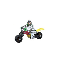 Metal Building Toy Motorbike 95 Piece Construction Kit