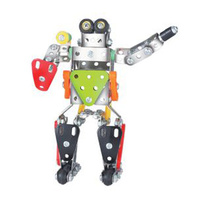 Metal Construction Toy Robot #5