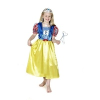 Glitter Snow White Costume 3-5
