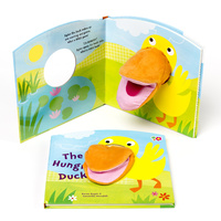 Hand Puppet Book The Hungry Duck