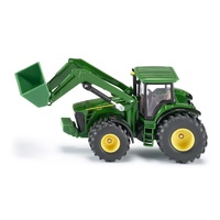 John Deere Tractor with Front Loader Die Cast Toy